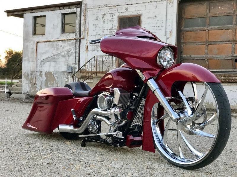 Motorcycles 2014 Harley Davidson Street Glide Custom Bagger