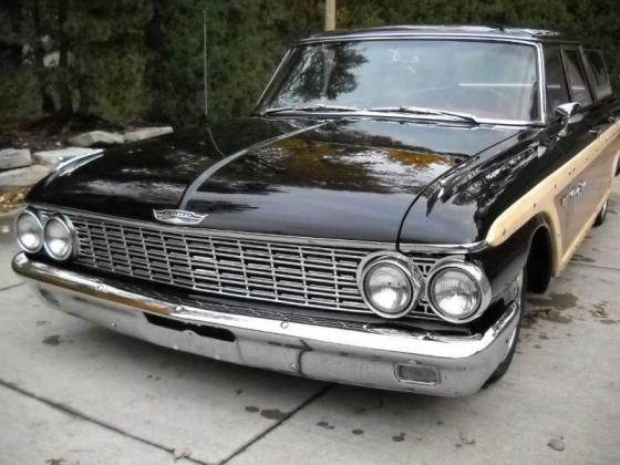 1962 Ford Galaxie Country Squire Base Wagon 5.8L