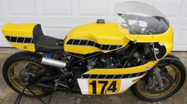 1975 Yamaha TZ750B Daytona 200 Survivor
