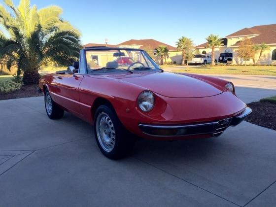1973 Alfa Romeo Spider Junior Duetto