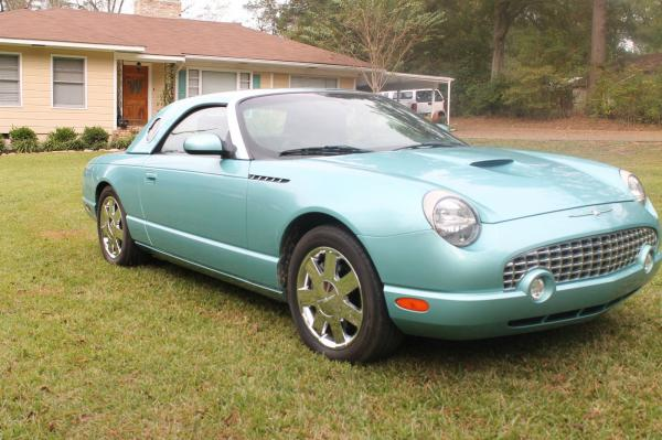 2002 Ford Thunderbird Convertible Low Miles