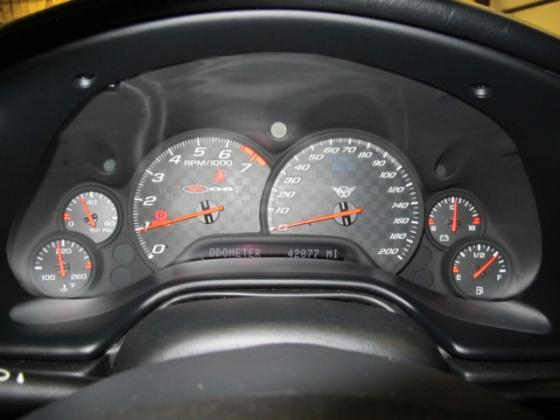 2003 Chevrolet Corvette Z06 6-Speed Manual