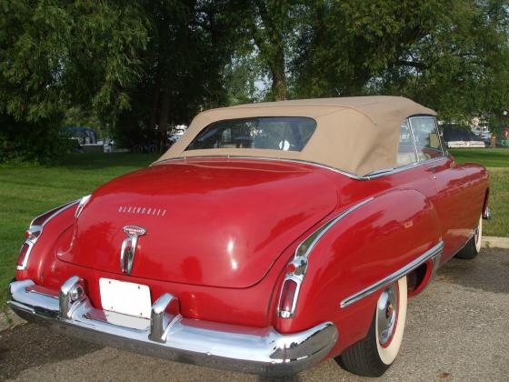 1949 Oldsmobile Rocket 98 Convertible