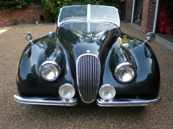 1952 Jaguar XK120 Replica