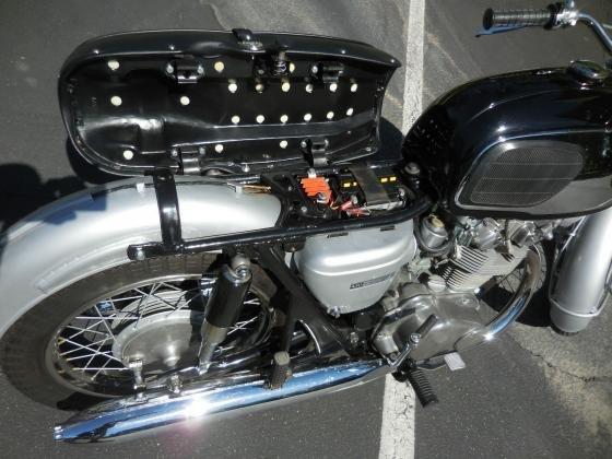 1966 Honda CB450 SS