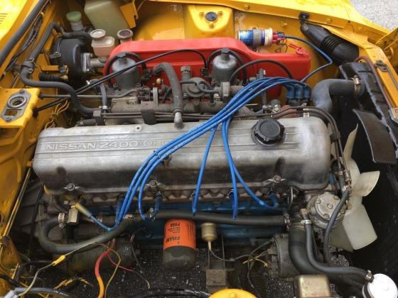 1970 Datsun Z-Series 240z Gold