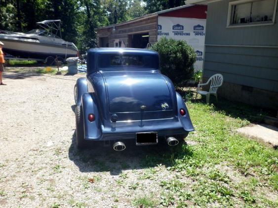 1933 Plymouth 5 Window Coupe Rare