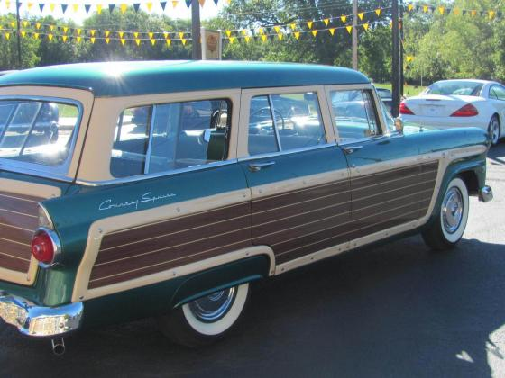 1955 Ford Country Squire Base Wagon 4-Door