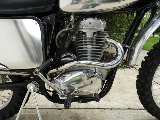 1971 BSA B50 MX Motocross Bike