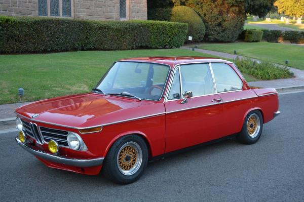 1969 BMW 2002 Coupe Fully Rebuilt