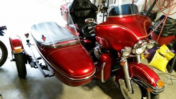 1992 Harley-Davidson FLHTC / Factory Sidecar