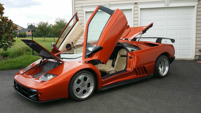 Cars 1999 Replica Kit Makes Lamborghini Diablo Gt R