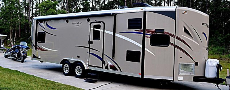 Work And Play Toy Hauler >> Motorhomes 2014 Forest River 28vfk Work And Play Toy Hauler
