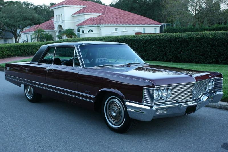 Cars - 1968 Chrysler Imperial Crown Coupe Factory 440