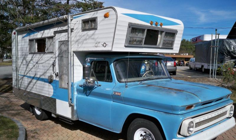 Motorhomes - 1965 Chevrolet Classic Camper/Truck RV