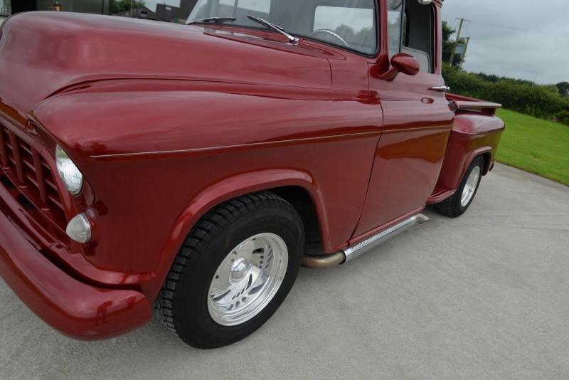 Cars 1956 Chevy Chevrolet 3100 Pickup Truck