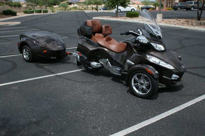 Motorcycles  2012    CAN      AM       SPYDER    RT LIMITED WITH    TRAILER
