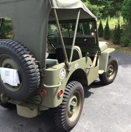 Cars 1943 Jeep Willys Mb Ww2