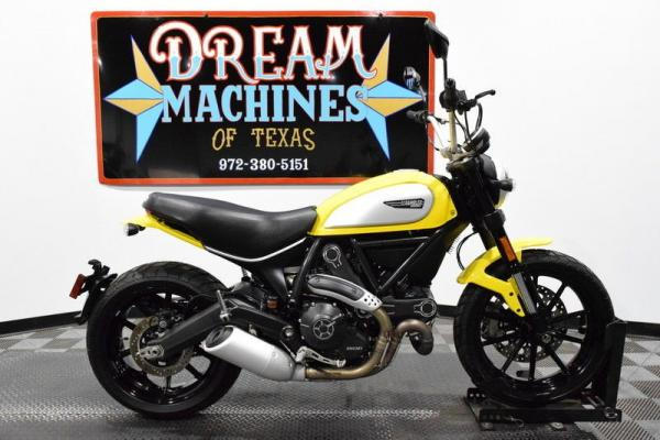 2016 Ducati Scrambler Icon 465 Miles Yellow