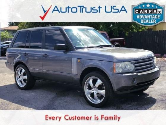 2006 Land Rover Range Rover HSE NAV SUNROOF RUNS DRIVES LOCAL TRADE