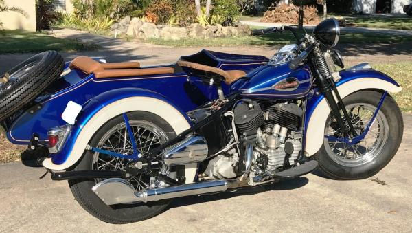 1942 Harley Davidson WWII 1200CC Flathead