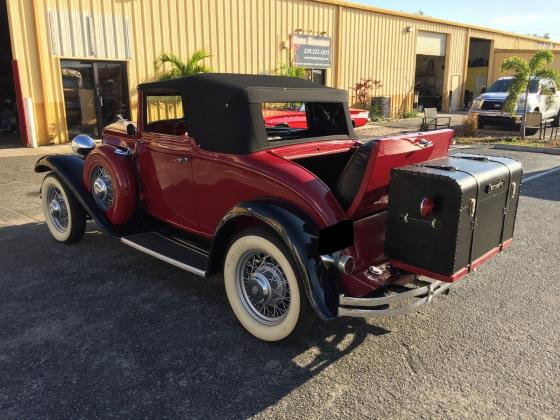 1932 Chrysler CI-6 Convertible
