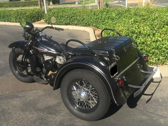 1941 Harley Davidson Servicar Original