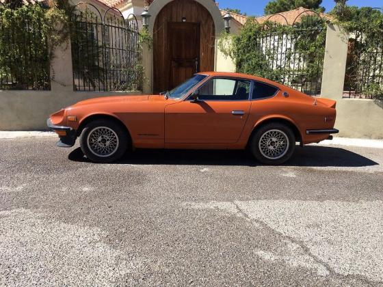 1971 Datsun 240z Z-Series Orange