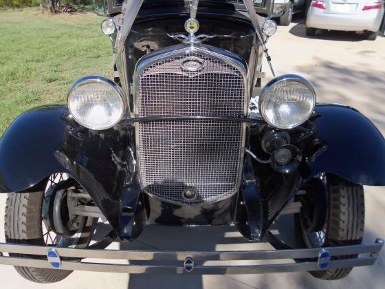 1931 Ford Model A Deluxe Sport Coupe