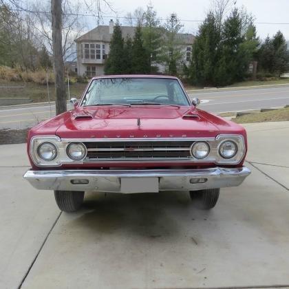 1967 Plymouth GTX Real Hemi J Code