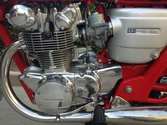 1966 Honda CB450 RED DRAGON