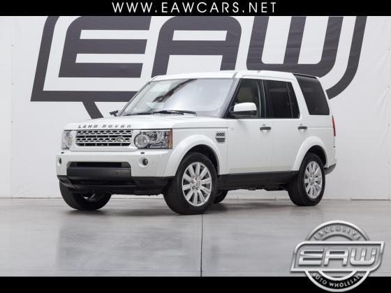 2013 Land Rover LR4 HSE 61422 Miles White 4.4L V8 DOHC 32V Automatic