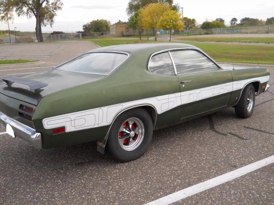 1971 Plymouth Duster 340 4-Speed