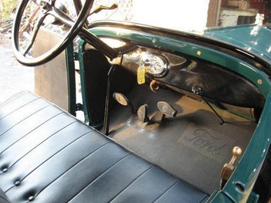 1927 Ford Model T Total Restoration