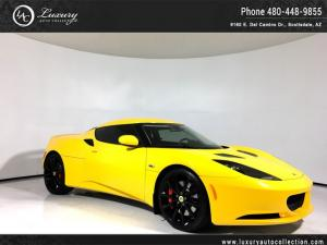 2013 Lotus Evora 2+2 | Navigation | Red Calipers | Sport Pkg | Auto Solar Yellow