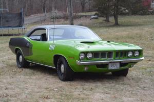 1971 Plymouth Barracuda Cuda 340-4 Speed