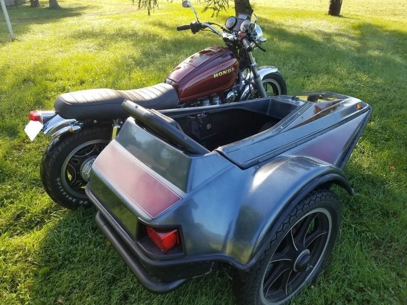 Motorcycles - 1982 Honda Goldwing 1100 Vetter Terraplane Sidecar