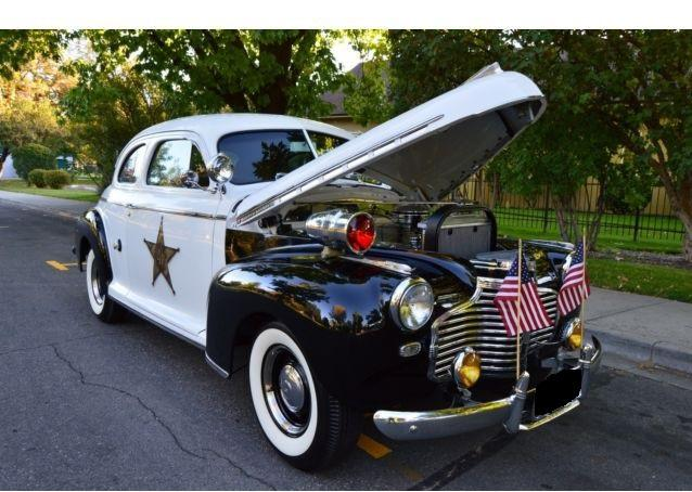 Cars - 1941 Chevrolet Master Deluxe Mayberry Police Car