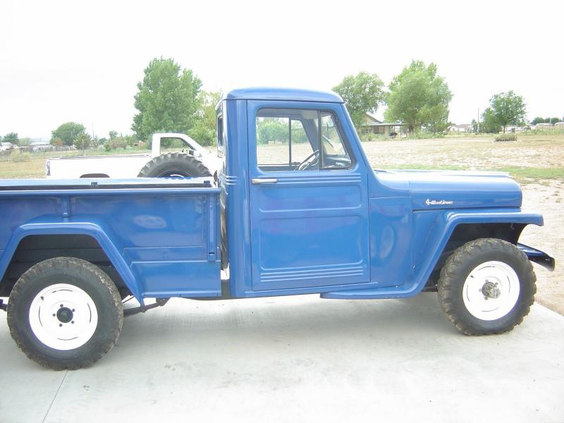 Cars 1951 Willys Pickup Blue