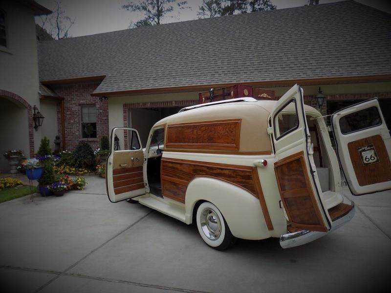 Cars Rochester Ny >> Cars - 1953 Chevrolet Woodie Panel Wagon Custom