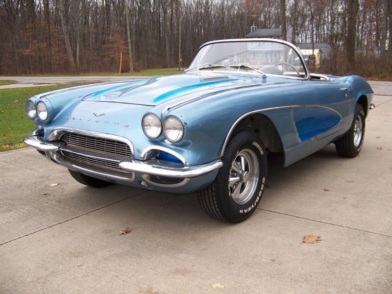 1961 Chevrolet Corvette Project Car For Sale: 1961 Chevrolet Corvette Convertible Project Car