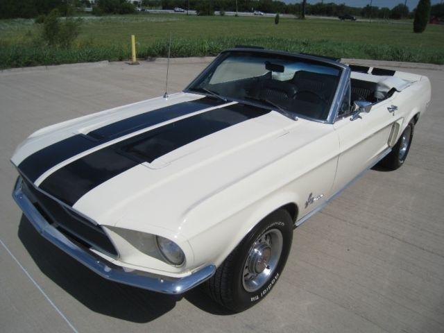 1968 Ford Mustang Convertible Restomod V8 | 1968 Ford ...
