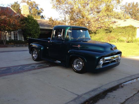 1956 Ford F-100 Vintage Restored 350Ci