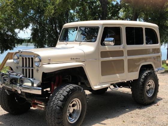 1956 Willys Wagon Jeep 4x4 - 455 Rocket