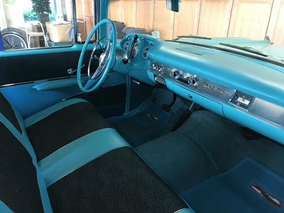 1957 Chevrolet Bel Air 150 210 Tropical Turquoise