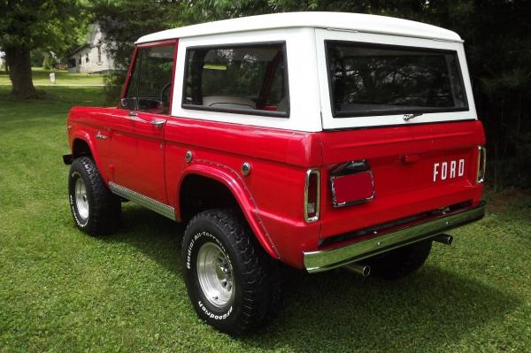 1968 Ford Bronco 289 4 Speed