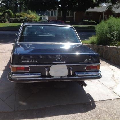 1972 Mercedes Benz 200-Series 280SEL W108