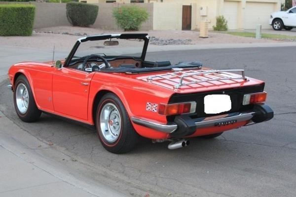 1976 Triumph TR-6 Convertible