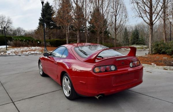 1994 Toyota Supra Twin Turbo Red Hatchback
