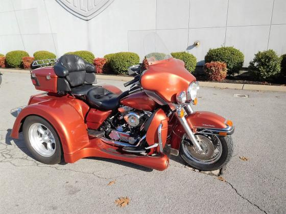 1997 Harley Davidson Ultra Classic with 2012 Motor Trike Conversion Kit